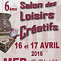 Salon de mer (41) ce week-end, les 16 et 17 avril 2016