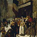 Guillaumet, cantine municipale dans le faubourg Saint Martin pendant le siège de Paris 1871
