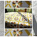 Dresden Plates - long arm quilting
