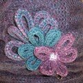 broche en tricotin