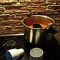 Récipient pour sauce tomate