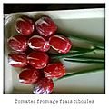Bouquet de tulipes en tomates