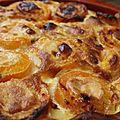 Clafoutis aux abricots vanilles et miel