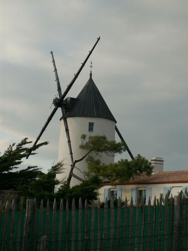 Moulin de la Bosse -Noirmoutier -dépt 85