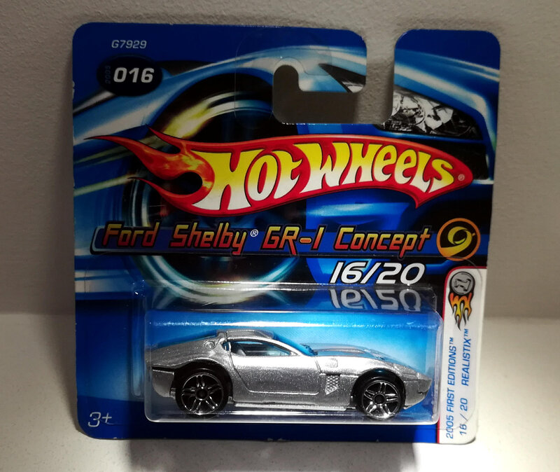Ford Shelby Gr-1 Concept (Hotwheels)