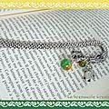 Marque page dragon vert (3)