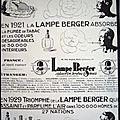 Lamper berger.