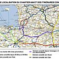 Travaux sur a84 entre avranches et villedieu du 9 au 24 mai 2017 : les déviations et itinéraires alternatifs