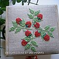 BOITE A INFUSTIONS FACE BRODERIE