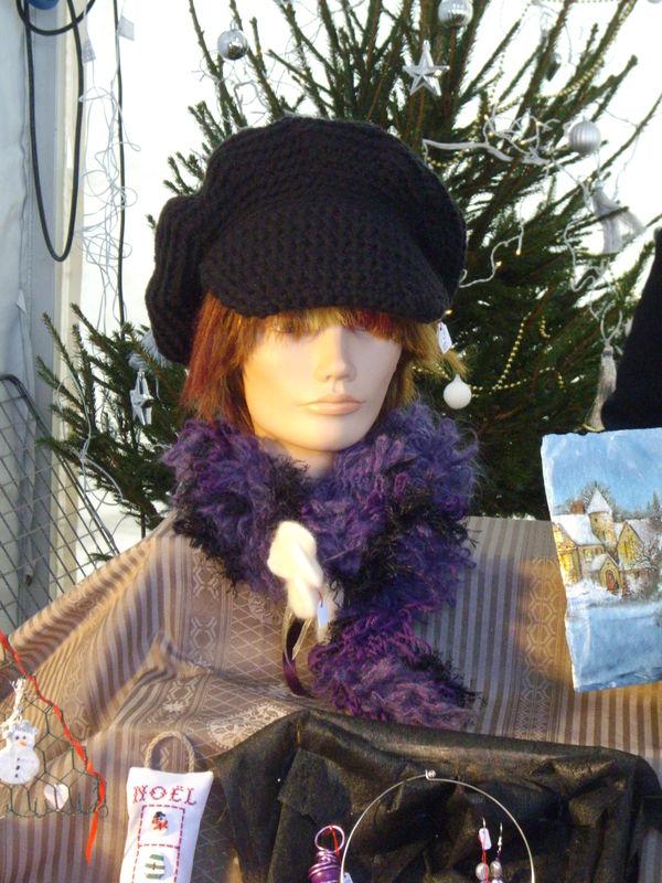 casquette au crochet