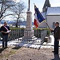 Commémoration du 19 Mars 2013