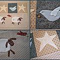 Panière btq(3), eastwood village(5), mystery quilt(4)