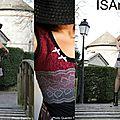 Stylée British / robe dentelle tartan multi saisons
