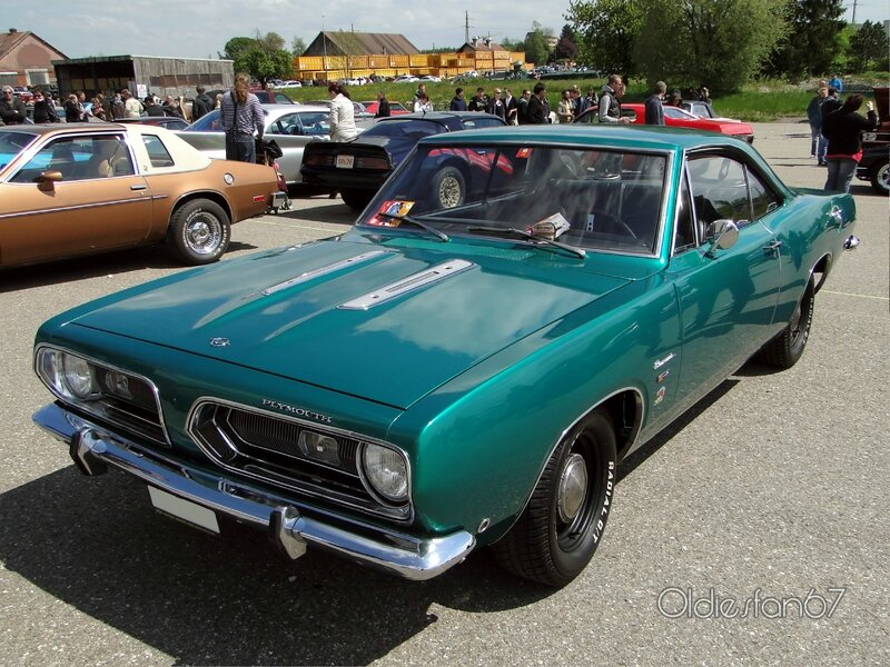 "Classic Chevrolet Beaumont >> Plymouth Barracuda notchback hardtop coupe-1968 - Oldiesfan67 ""Mon blog auto"""