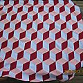 Ma vasarely blanket #14