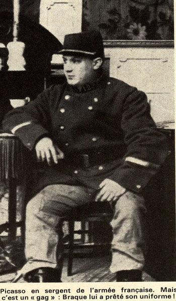 uniforme de Braque