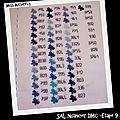 SAL Nuancier DMC -Etape 9