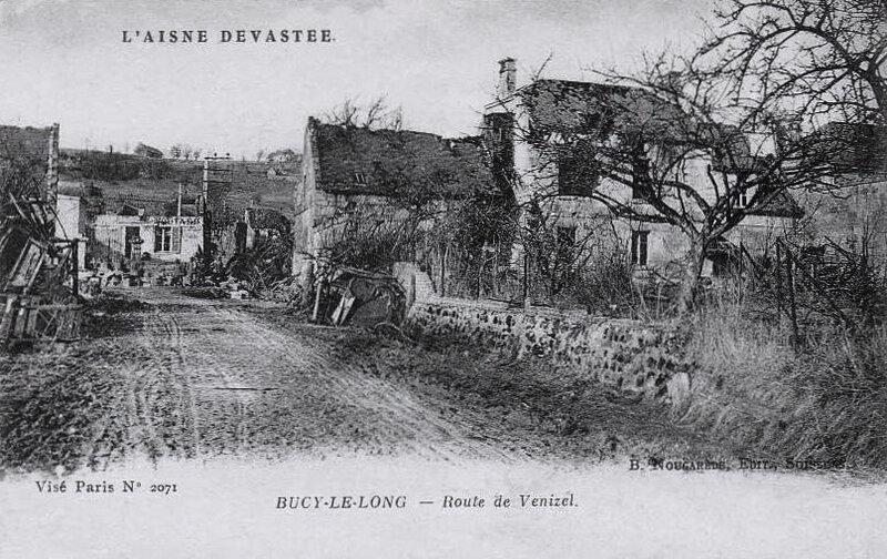 Bucy-le-Long, Aisne dévastée