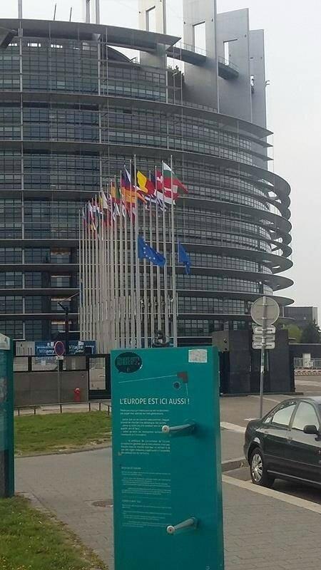 COMMÉMORATION DU 11 AVRIL AU PARLEMENT EUROPÉEN A STRASBOURG,LES DÉMOCRATES EXIGENT LA LIBÉRATION DU PRÉSIDENT GBAGBO