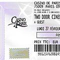 Two door cinema club - lundi 27 février 2017 - casino de paris
