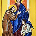 Le carême avec saint françois et sainte claire d'assise