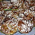 Ghribas amandes - pistaches