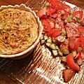 Terrine de carotte aux 5 céréales et curry les