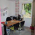 Le bureau rose