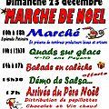 Marche de noel 2012 à pont-du-fossé