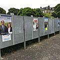 Élections législatives - dimanche 11 juin 2017 - 1er tour - propagande (professions de foi + bulletins de vote) des candidats