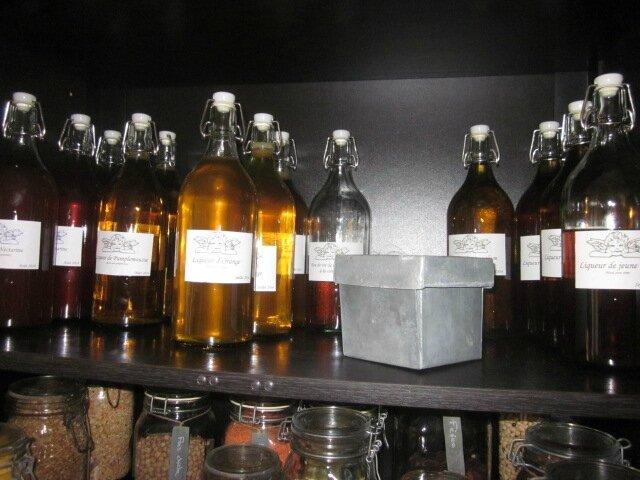 Mes petites liqueurs home-made