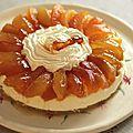 Transparent aux pommes tentation® sur panna cotta vanille/citron