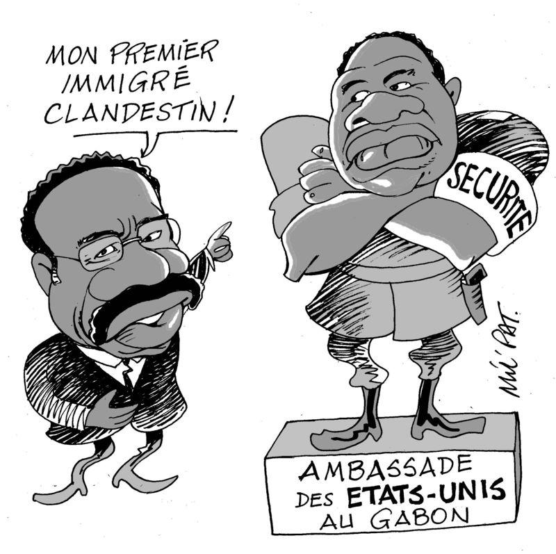 888 Ambassade USA au Gabon