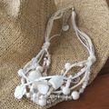 collier blanc 30 euros