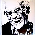 Poster Ray CHARLES - Papier photo