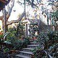 Scala ingresso giardino