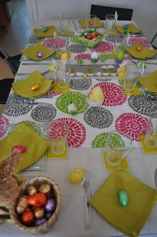Deco Noel Fait Main Pour Table : Deco de table pÂques les petits delices chris