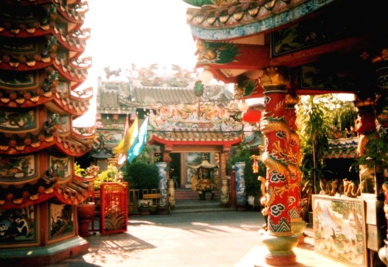 Chiang Maï Temple chinois
