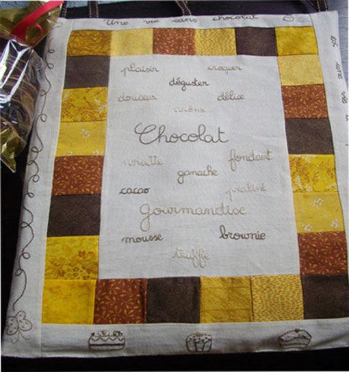 échange chocolat de patchtopatch avec Glisette