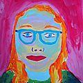 Auto-portrait non-conventionnel