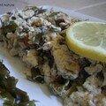Omelette destructurée au Kombu