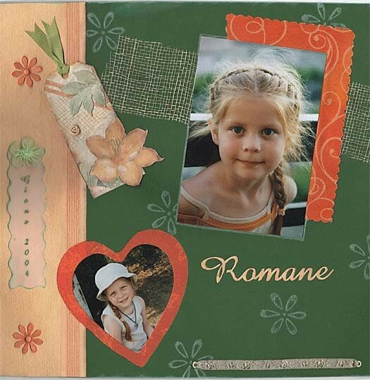 Romane (ma toute 1ère page)