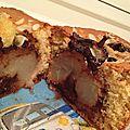 Cake façon poire belle hélène