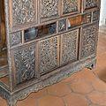 A fine carved huanghuali cabinet , Vietnam, 19th