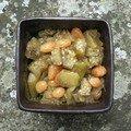 Compote d'aubergine à la mélisse