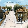 Fourmies - la rue sencier