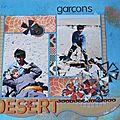 Garçons du desert