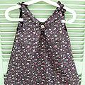Tite robe au yoyo en taille 3 ans