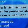 Un sms d 'Arnaud