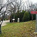 Le 28 février 1944 à monieux: assassinat de léon blanc par les nazis